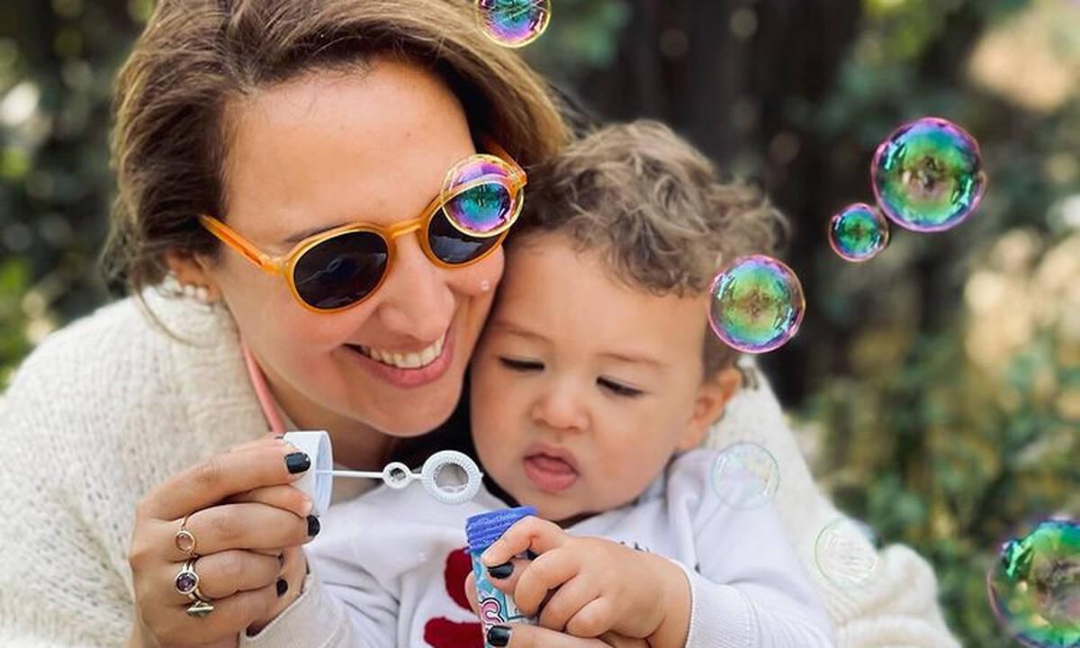 Κλέλια Πανταζή: Καλοκαιρινή βόλτα με το γιο και την ανιψιά της