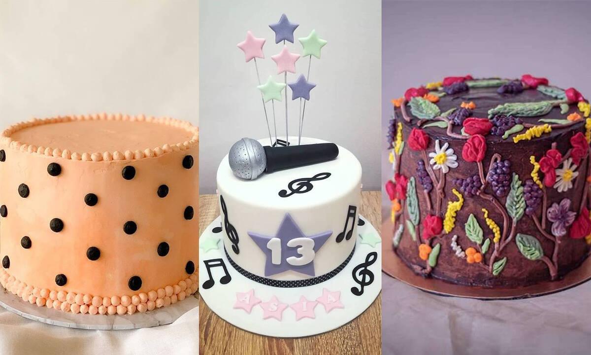 Τούρτες γενεθλίων για μεγάλα κορίτσια - Δώδεκα φανταστικές ιδέες