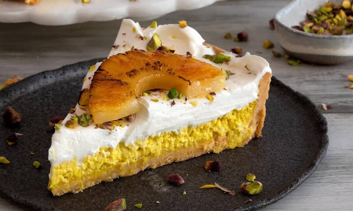Τάρτα ανανά - Το καλοκαιρινό σπιτικό γλυκό που θα λατρέψετε