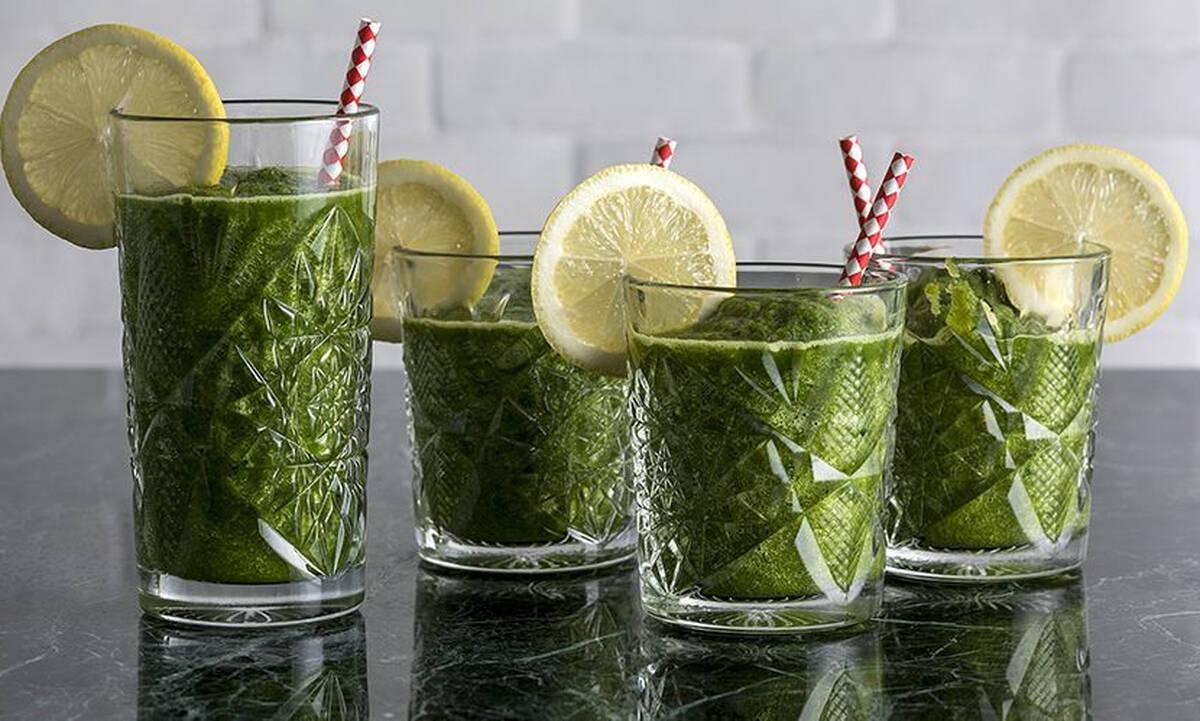 Χυμός με kale και μαρούλι - Σούπερ αντιοξειδωτικός
