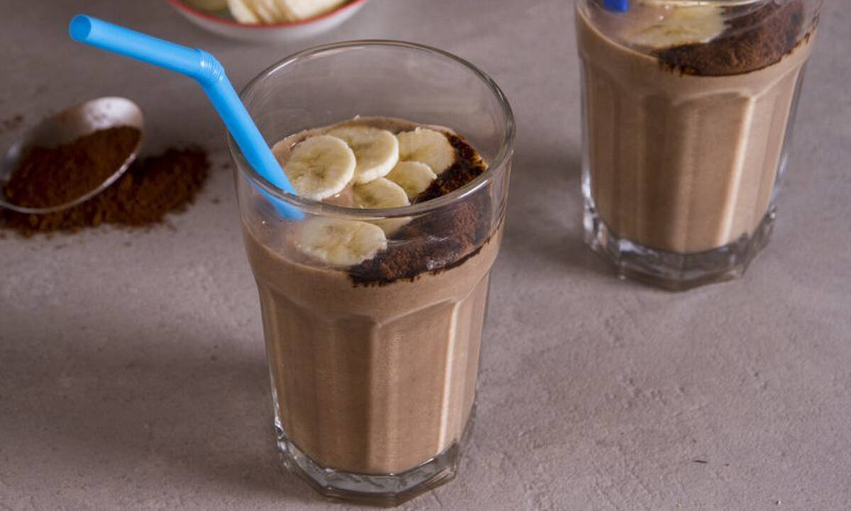 Σας αρέσει ο καφές; Δοκιμάστε αυτό το smoothie με μπανάνα