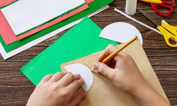 Χειροτεχνίες για παιδιά: Φτιάξτε καλοκαιρινά κολάζ με χαρτί (vids)
