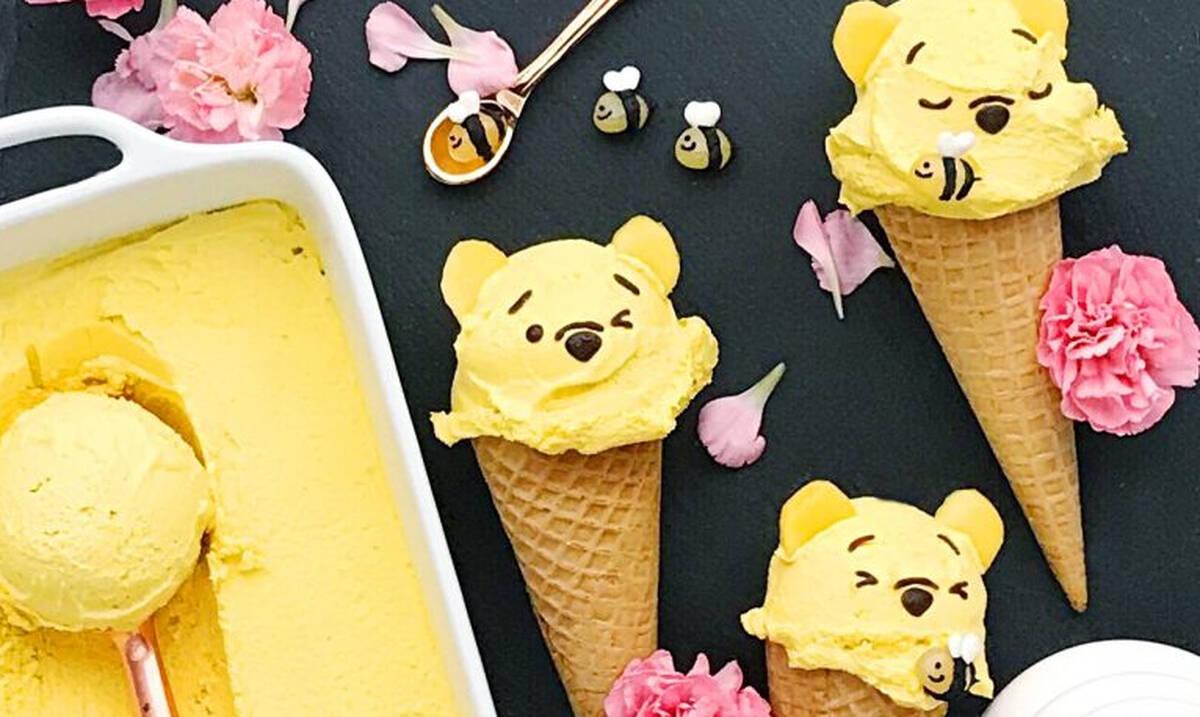Παγωτά Winnie The Pooh για τα παιδιά - Πώς θα τα φτιάξετε