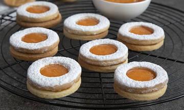 Μπισκότα γεμιστά με μαρμελάδα - Τα παιδιά θα τα λατρέψουν