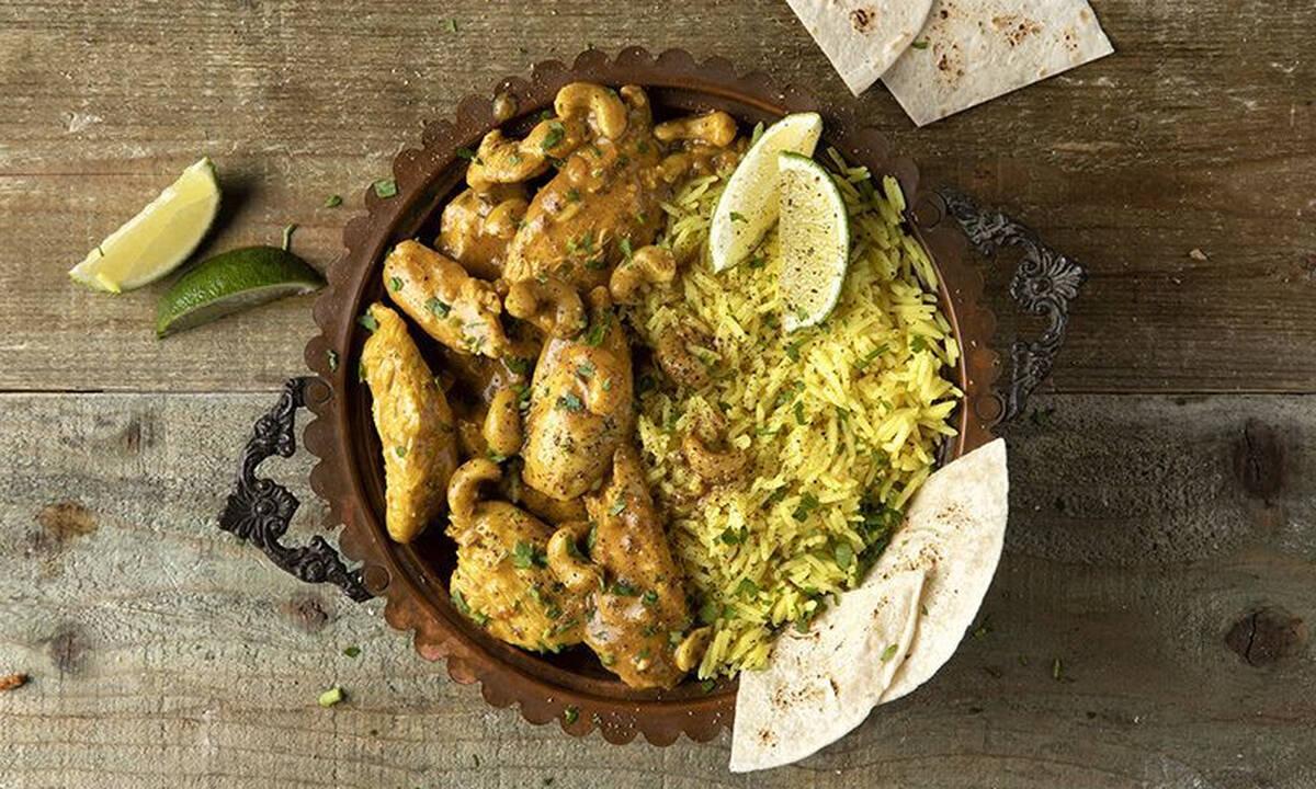 Κοτόπουλο με κάρι - Νόστιμο φαγητό έτοιμο σε λιγότερο από μισή ώρα