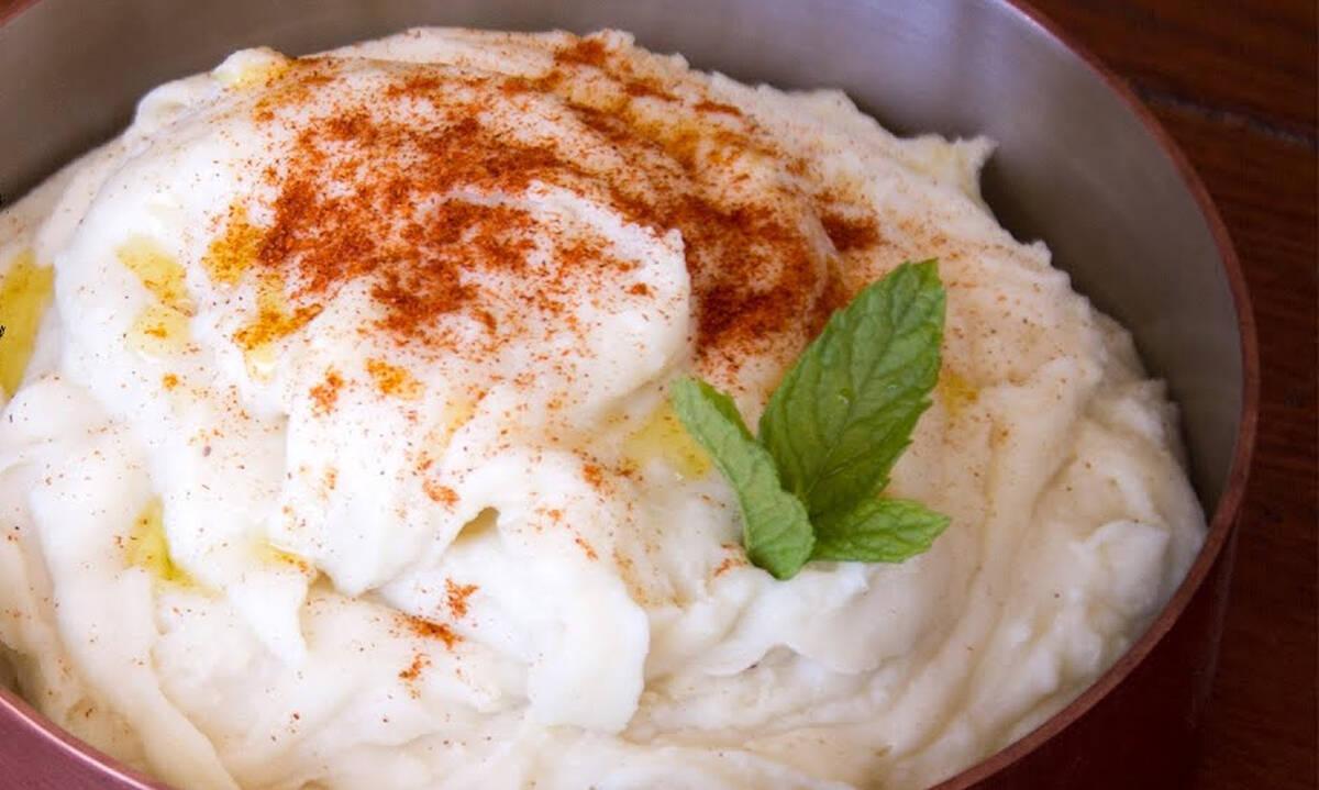 Η συνταγή του Άκη για τον πιο νόστιμο πουρέ πατάτας