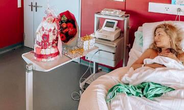 Μαρία Ηλιάκη:Οι πρώτες μέρες με τη νεογέννητη κόρη της στο σπίτι (pics+vid)