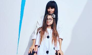 Ζενεβιέβ Μαζαρί: Η κόρη της, Ροζαλία, σε ρόλο μοντέλου