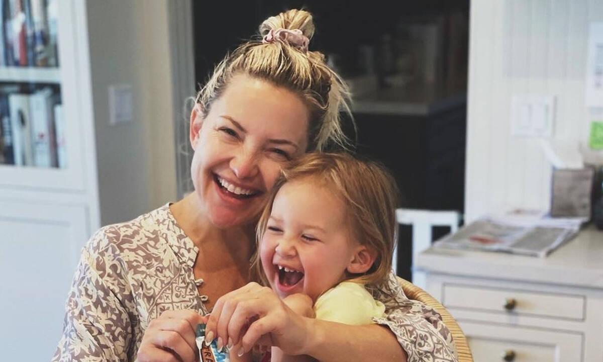 Κate Ηudson: Γυμνάζεται με την 2 ετών κόρη της και εξηγεί το λόγο