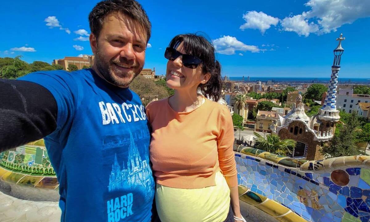 Μπλέτσας - Αστέρη: Η φωτογράφιση λίγο πριν τον ερχομό του παιδιού τους