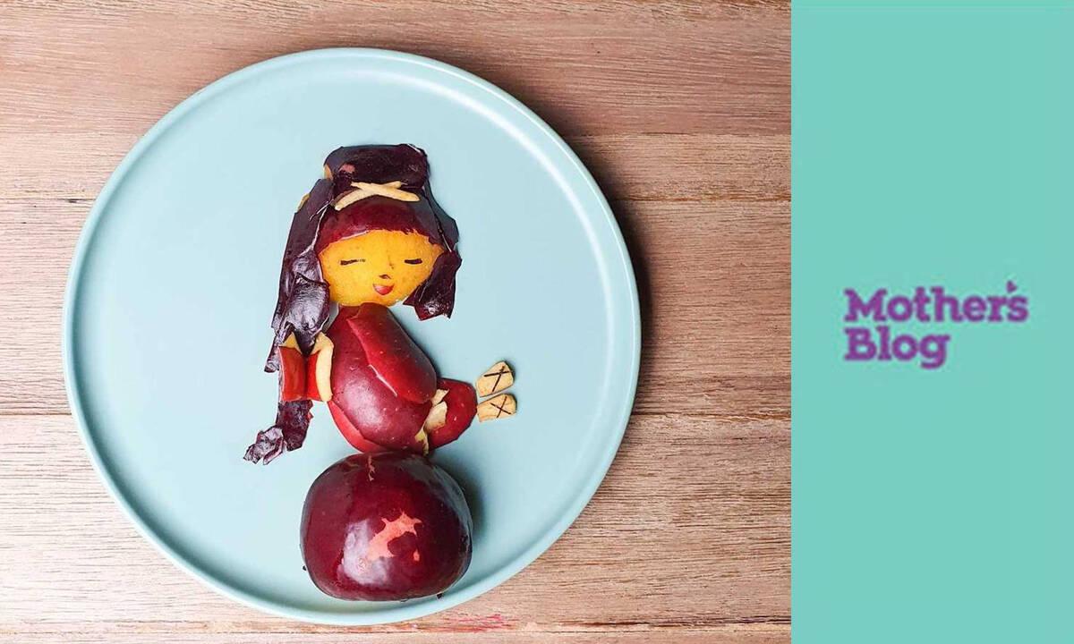 Γρήγορο σνακ με φρούτα που θα ενθουσιάσει τα παιδιά
