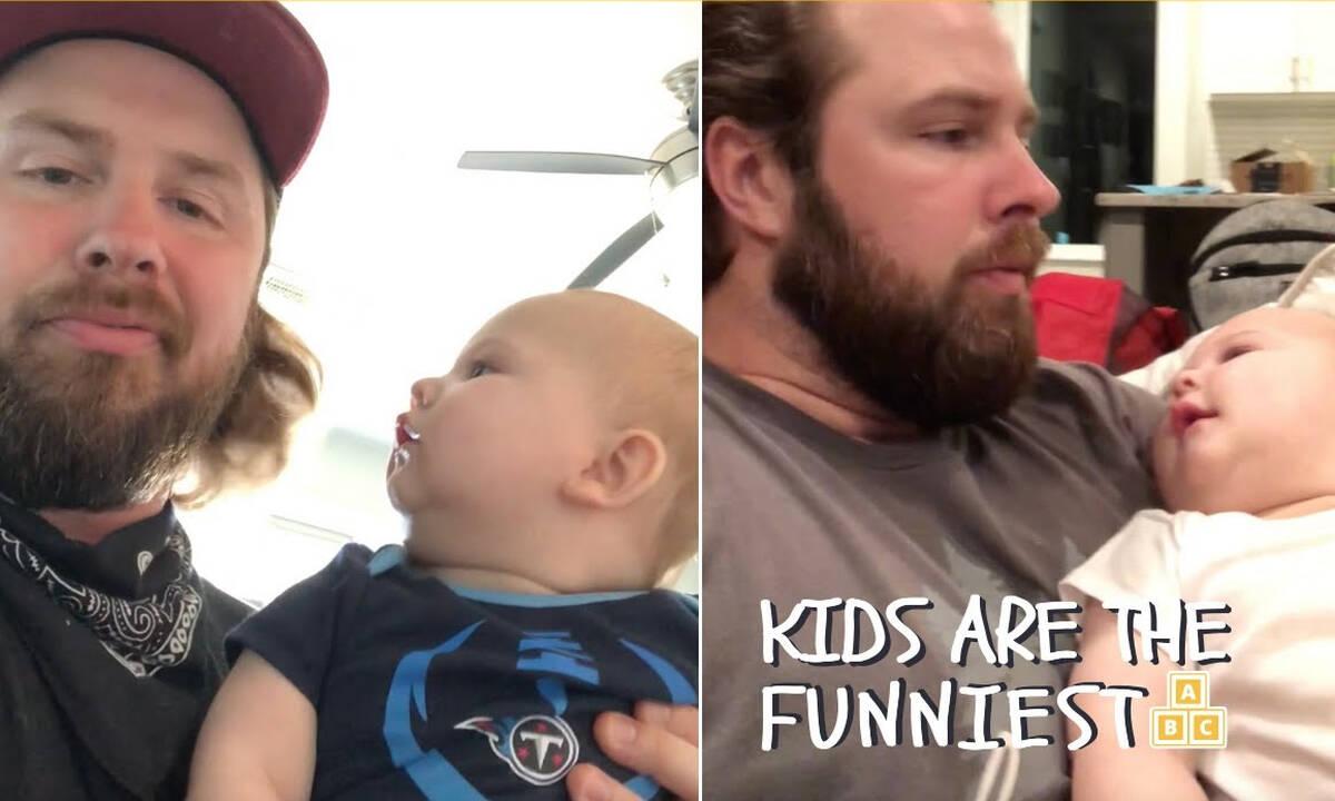 Αυτός ο μπαμπάς βρήκε έναν μοναδικό τρόπο για να σταματά το κλάμα του μωρού