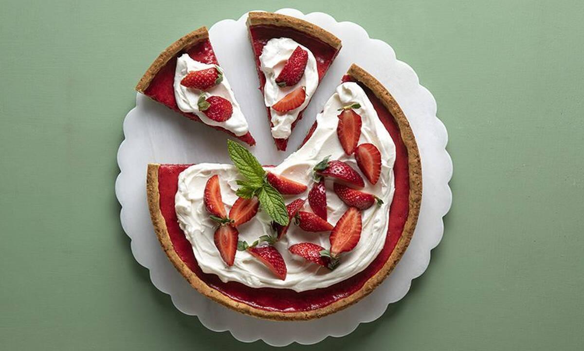 Τάρτα φράουλας - Φτιάξτε την όπως ο Άκης