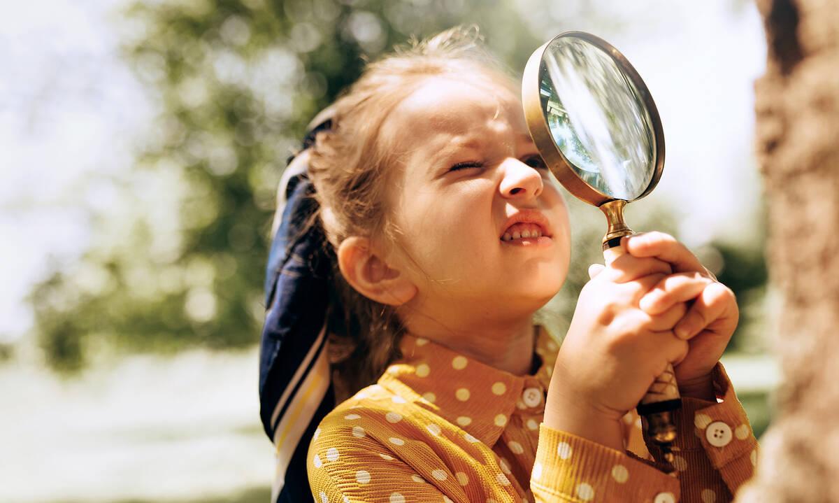 H περιέργεια των παιδιών είναι ένδειξη της ανάπτυξής τους