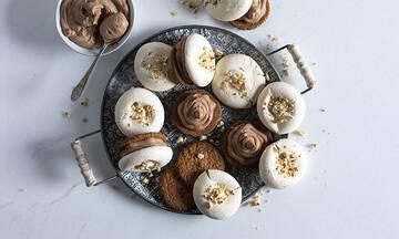 Μπισκοτομαρεγκάκια με μους σοκολάτας - Το τέλειο γλύκισμα για παιδικό πάρτι