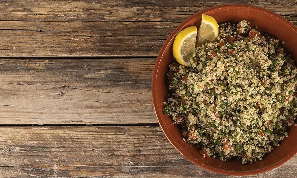 Ταμπουλέ με κινόα - Απολαύστε το και ως κυρίως γεύμα