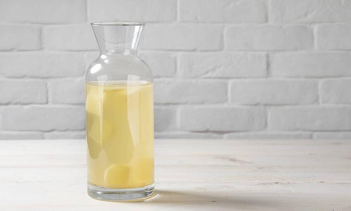 Αντιοξειδωτική λεμονάδα με τζίντζερ - Φτιάξτε την σε πέντε λεπτά