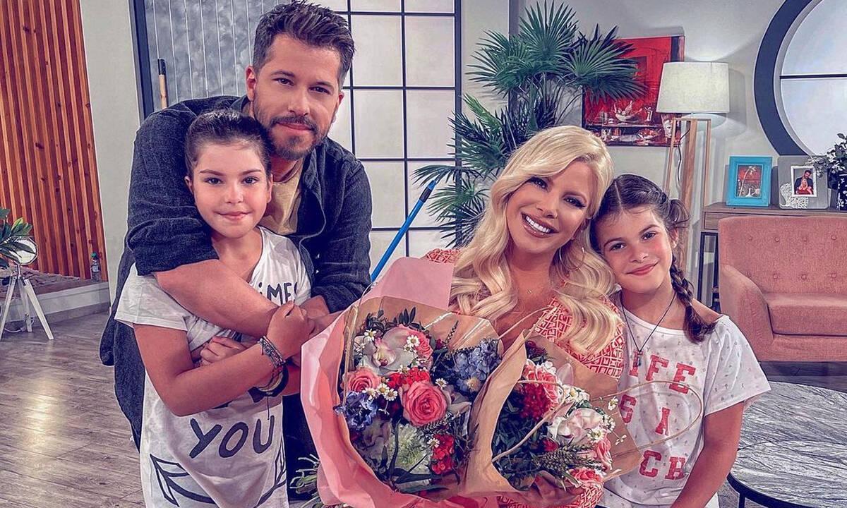 Αντελίνα & Χάρης Βαρθακούρης: Η κόρη τους έκανε μεγάλη αλλαγή στα μαλλιά της