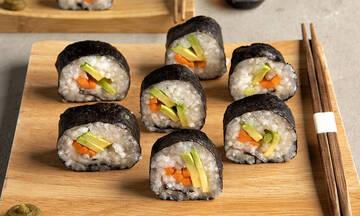 Vegan σούσι - Ένα σούσι που θα λατρέψουν ακόμη και τα παιδιά