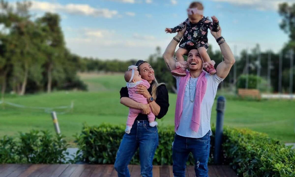 Λευτέρης Πετρούνιας: Γυμνάζεται με την κόρη του και το Instagram «λιώνει»