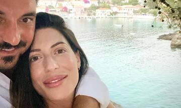 Φλορίντα Πετρουτσέλι: Δείτε πώς φωτογράφισε τον σύζυγο και τον γιο της