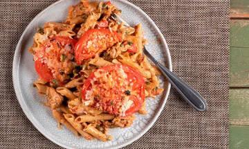 Μακαρονάδα με τόνο στον φούρνο - Πεντανόστιμη και υγιεινή