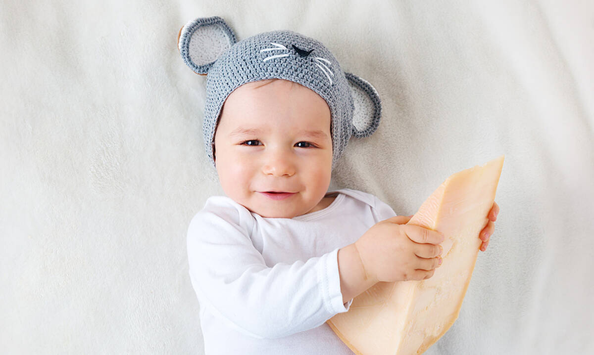 Από ποια ηλικία μπορεί το μωρό να φάει τυρί;