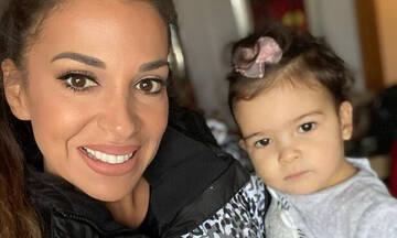 Ελένη Χατζίδου: Μία μικρή Ραπουνζέλ η κόρη της - Δείτε φώτο