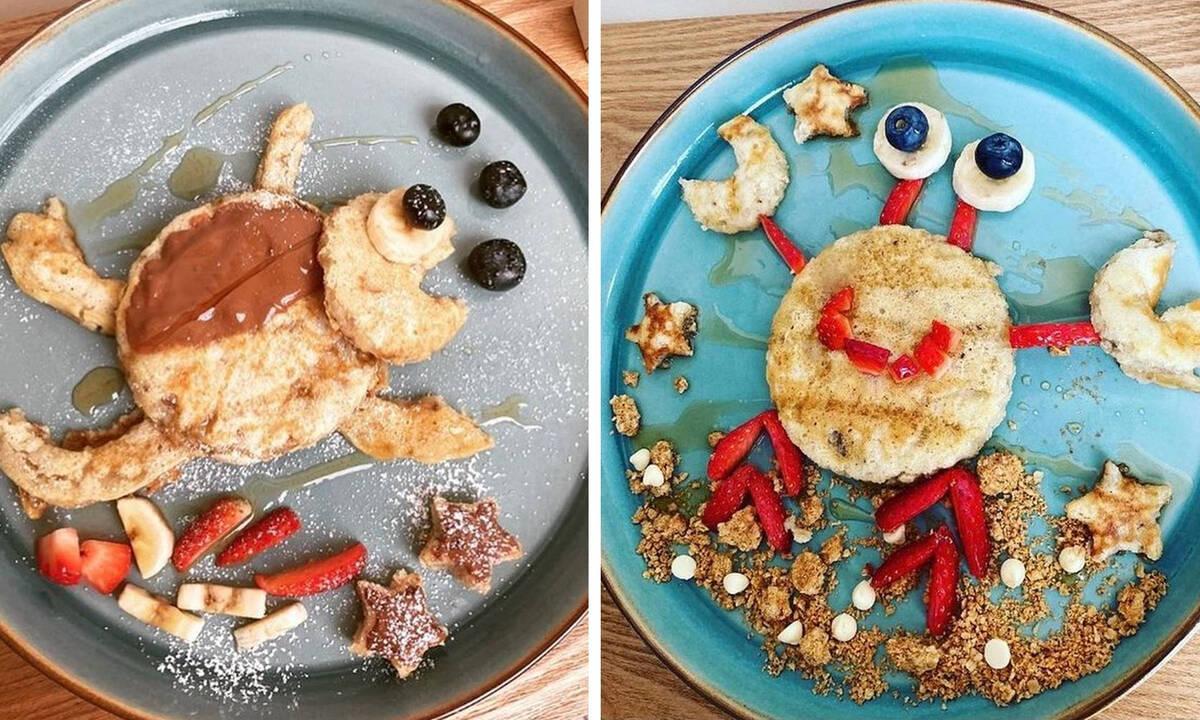 Πρωινό για παιδιά: Δέκα ιδέες για καλοκαιρινά pancakes με φρούτα (εικόνες)