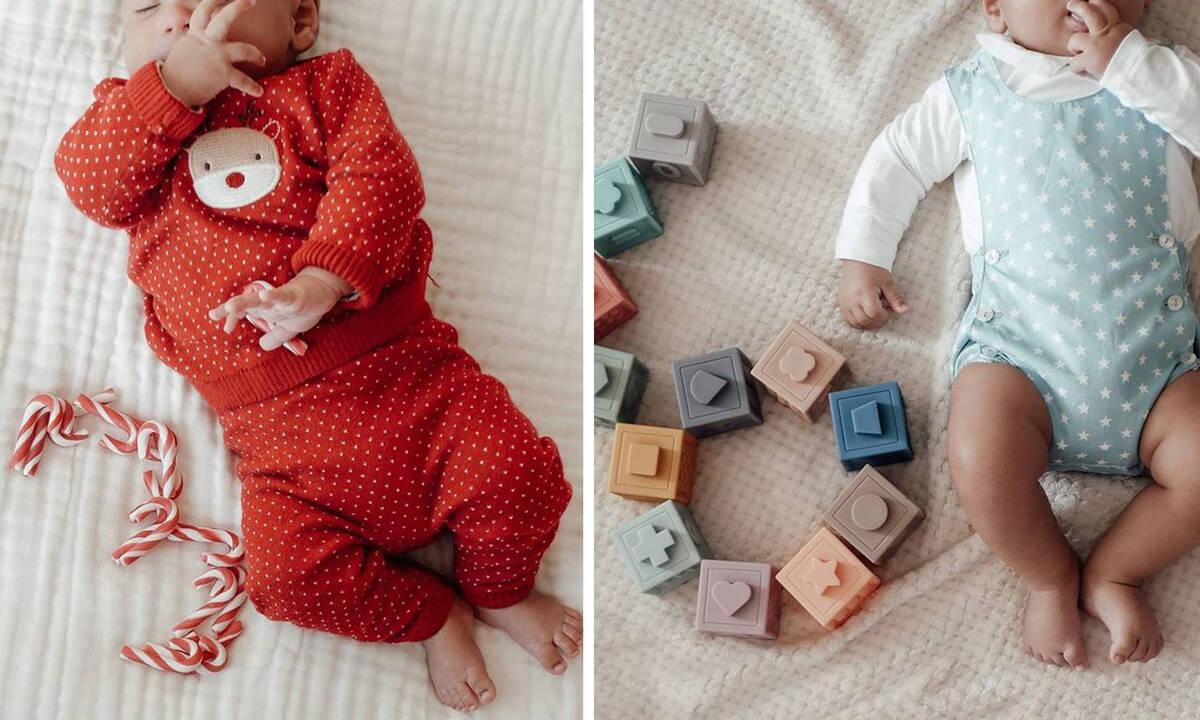 Μαμά φωτογραφίζει το μωρό της μήνα με τον μήνα - Δείτε το υπέροχο άλμπουμ