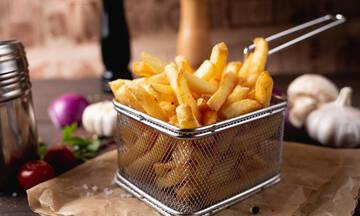 Πέντε μαμαδίστικα μυστικά για τέλειες τηγανητές πατάτες