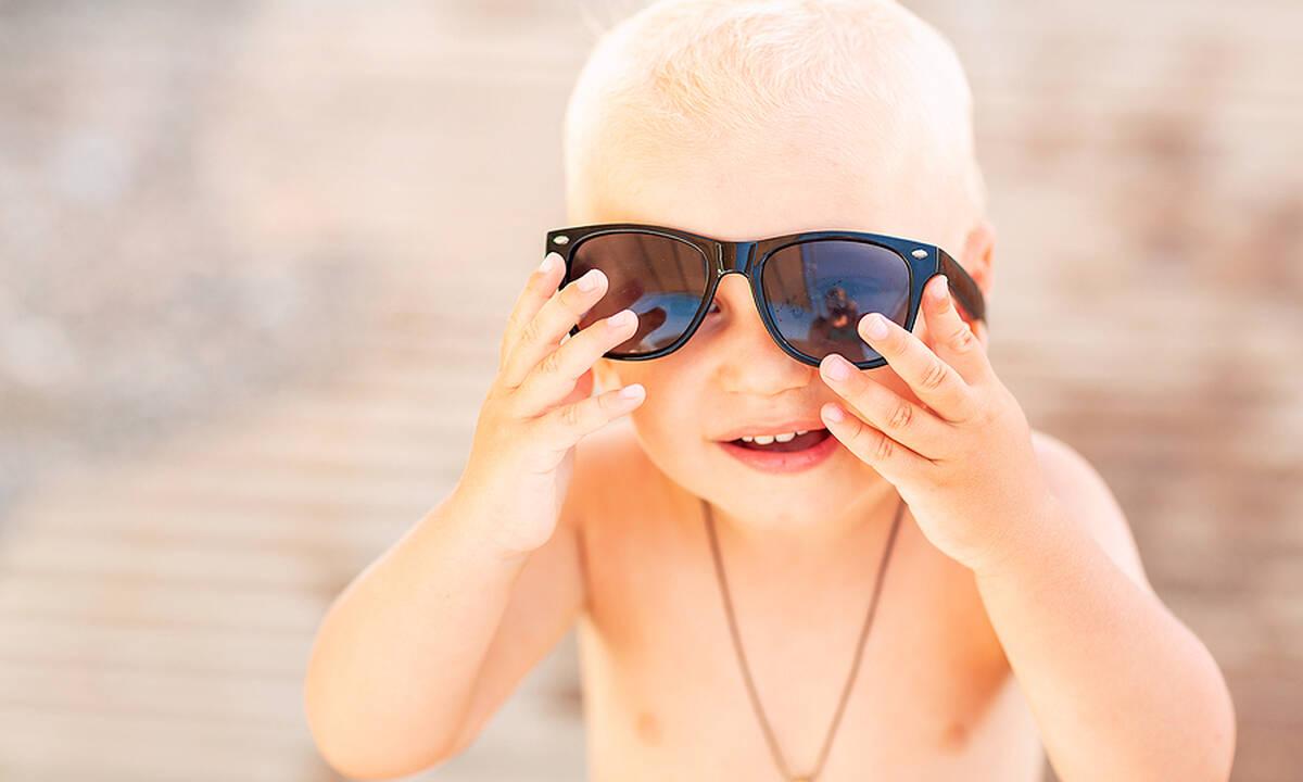 Γυαλιά ηλίου για παιδιά: Με ποια κριτήρια θα πρέπει να τα επιλέξετε;