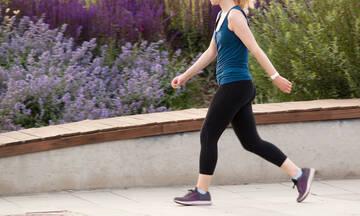 Γρήγορο περπάτημα 15 λεπτών: 6 οφέλη για την υγεία (εικόνες)