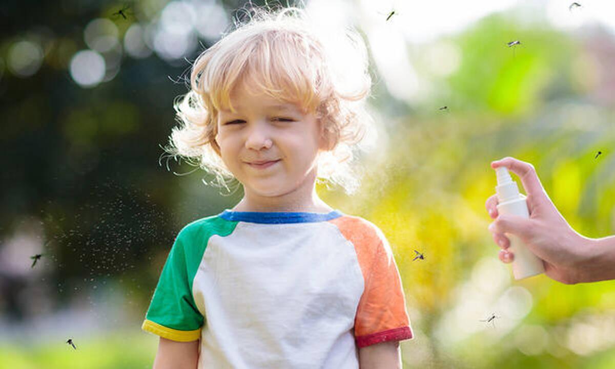 Κουνούπια και παιδί: Τι να προσέχετε όταν χρησιμοποιείτε εντομοαπωθητικά