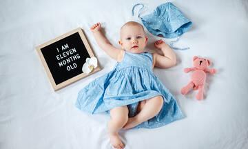 Όλα όσα κάνει το 11 μηνών μωρό σας