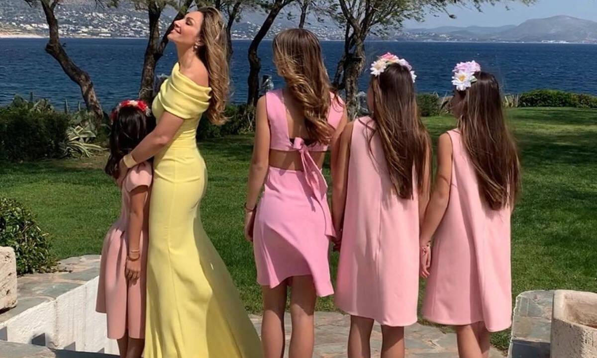 Ελένη Πετρουλάκη: Φωτογραφίες από το πάρτι γενεθλίων της μικρής της κόρης