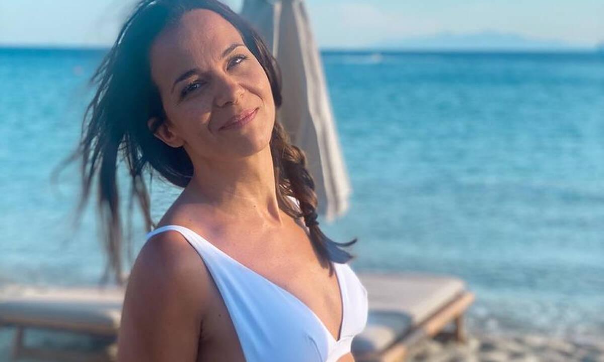 Ελιάνα Χρυσικοπούλου: Η κόρη της μάζεψε αχινούς (pics)