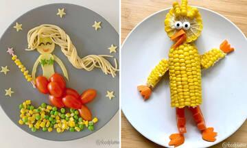 Μαμά δημιουργεί απίθανα πιάτα για τα παιδιά της - Πάρτε ιδέες (εικόνες)