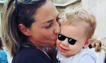 Αλεξάνδρα Ούστα: Η απίθανη βόλτα με τον γιο της (pics)