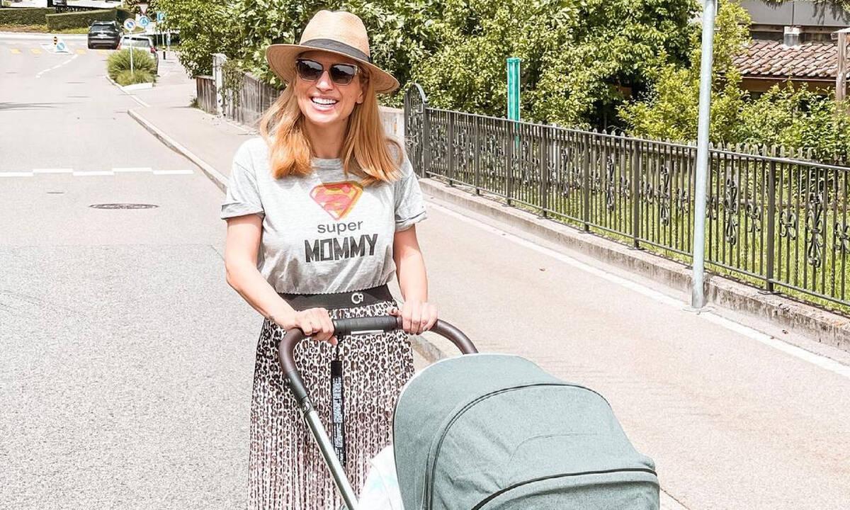 Μαρία Ηλιάκη: Ξεκίνησε γυμναστική 1,5 μήνα μετά τη γέννηση της κόρης της
