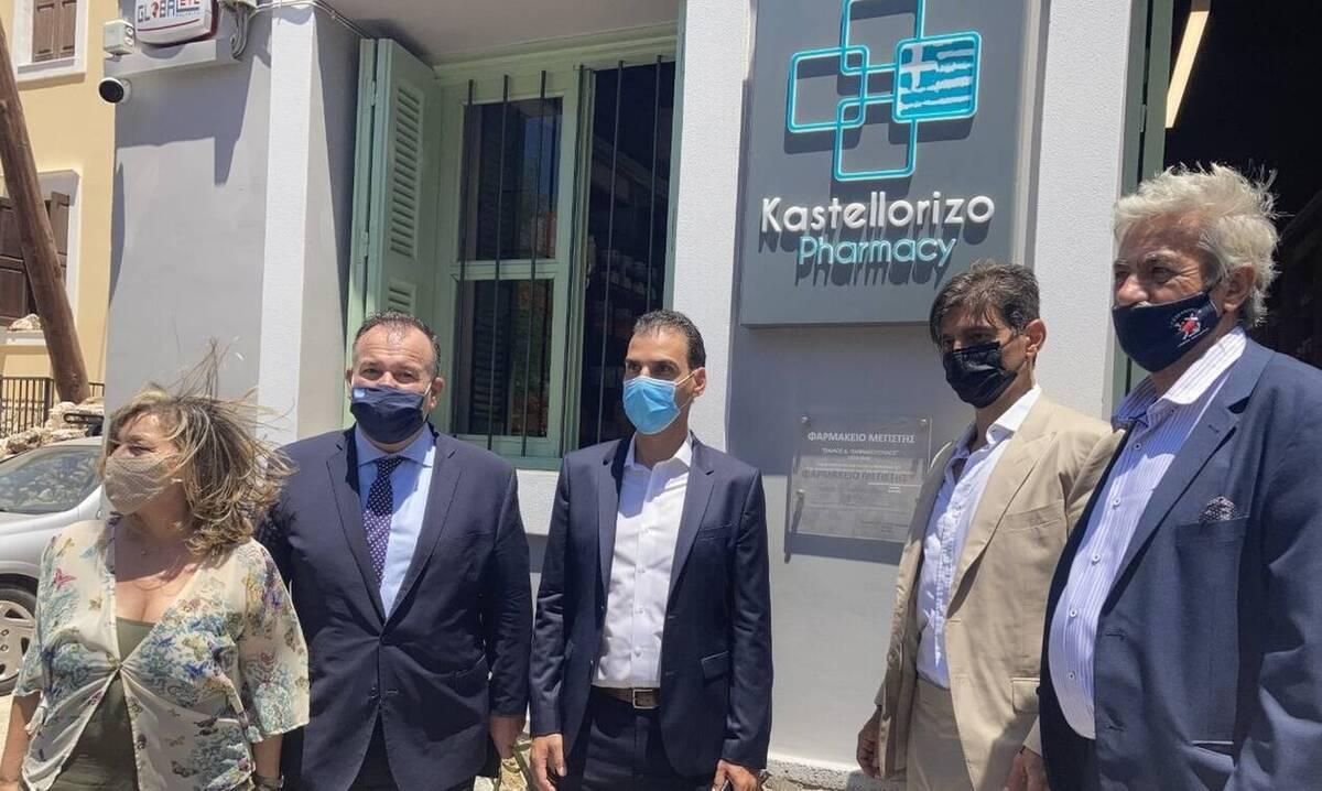 Φαρμακείο «Παύλος Γιαννακόπουλος» στο Καστελλόριζο - Δωρεά της ΒΙΑΝΕΞ στο Πολυδύναμο Ιατρείο