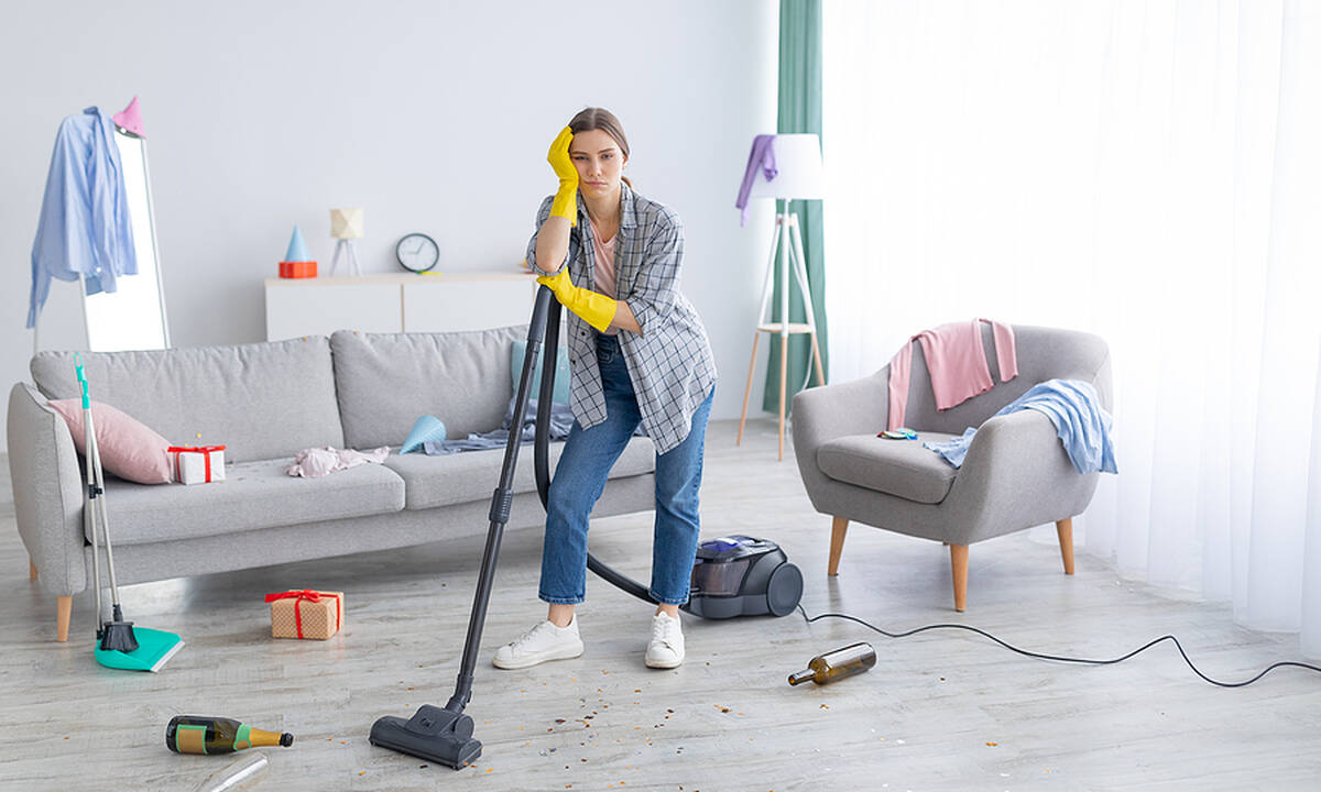 Μήπως το ακατάστατο σπίτι σου είναι σημάδι ότι κάτι δεν πάει καλά;