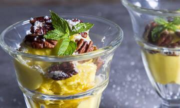 Συνταγές για παιδιά: Σπιτικό παγωτό μάνγκο χωρίς ζάχαρη