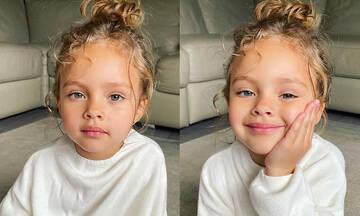Sienna Isobel: Το πεντάχρονο μοντέλο που εντυπωσιάζει με τις πόζες του