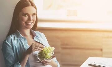Σταφύλια στην εγκυμοσύνη: Πότε πρέπει να αποφεύγετε την κατανάλωσή τους