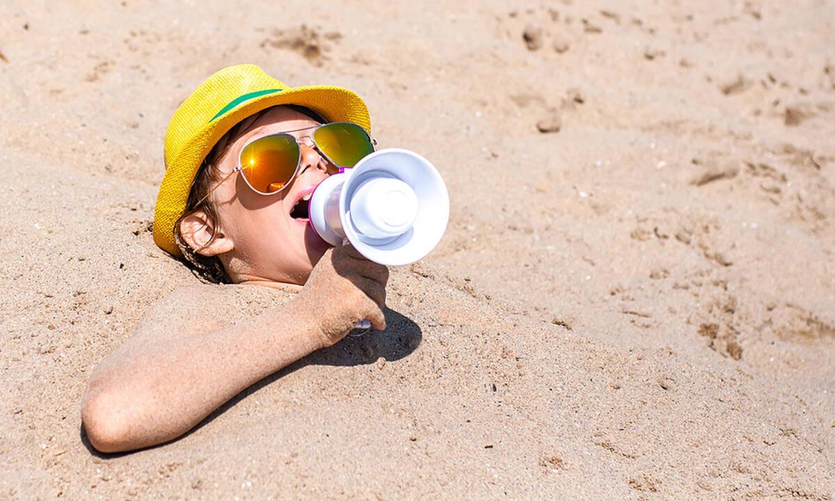 Ηλίαση και θερμοπληξία στα παιδιά - Τι να κάνετε