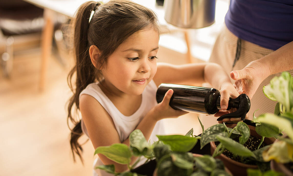 Tips για μαμάδες: Πώς να ραντίσετε χωρίς χημικά τα φυτά σας