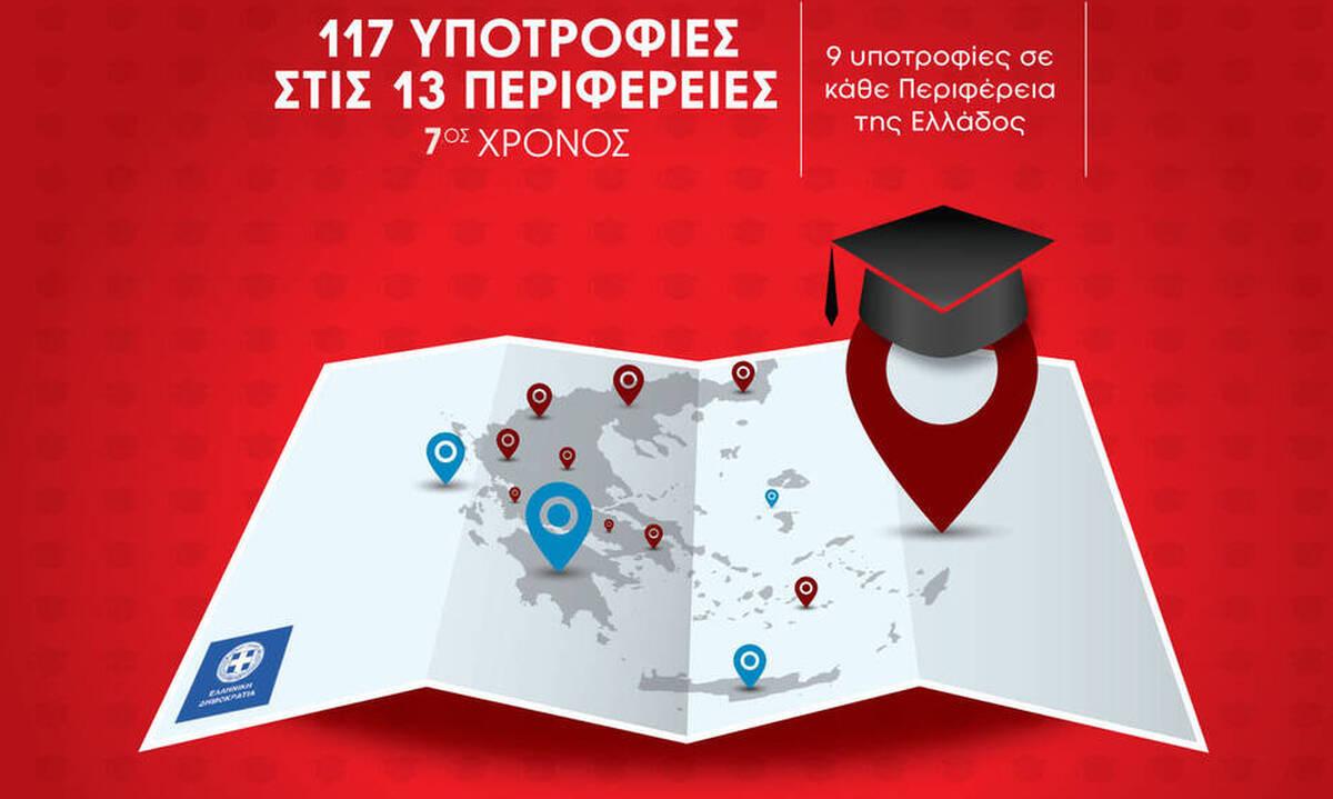 117 Υποτροφίες Σπουδών στις Περιφέρειες της Ελλάδας από το IEK ΑΛΦΑ & το Mediterranean College