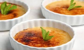 Γαλλική συνταγή για κλασική κρεμ μπρουλέ
