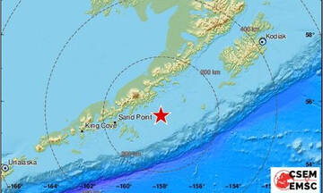 Σεισμός - «τέρας» 8,2 Ρίχτερ στην Αλάσκα - Φόβοι για τσουνάμι
